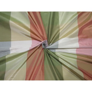 "100% SILK TAFFETA FABRIC MULTI COLOR  Plaids 4"" X4"" TAFC67[1]"