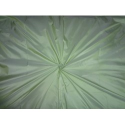 100% Pure SILK TAFFETA FABRIC Pastel Lime Green colour 54""