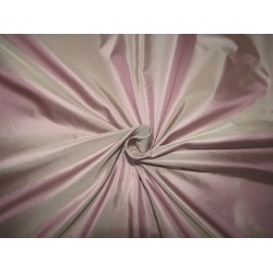 "100% PURE SILK TAFFETA champagne x lavender =iridescent  lavender  54"" 28  momme TAF303[4] by the yard"
