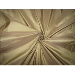 "100% PURE SILK TAFFETA golden beige   31 momme TAF303[3] 54"" wide sold by the yard"