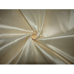 "100% PURE SILK TAFFETA CREAM CHAMPAGNE  54"" 53  momme TAF306[4]"
