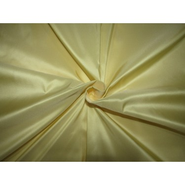 "100% PURE SILK TAFFETA BUTTER GOLD  54"" 35  momme TAF306[5]"