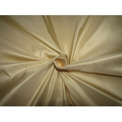 "100% PURE SILK TAFFETA CREAMY GOLD  54"" 35  momme TAF305[2] by the yard"