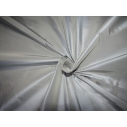 """100% PURE SILK TAFFETA BLUE  WITH A CREAM SHOT  54"""" 35  momme TAF305[4] by ther yard"""