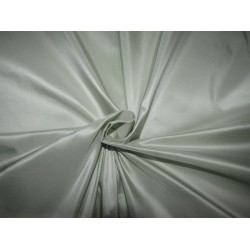 "100% PURE SILK TAFFETA DUSTY GREEN  54"" 35  momme  TAF305[5] by the yard"