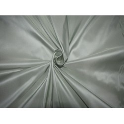 "100% PURE SILK TAFFETA ICE BLUE X CREAM SHOT =MINT   35  momme TAF304[5] 54"" wide sold by the yard"