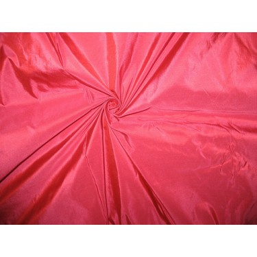 "SILK TAFFETA FABRIC dull Pink colour 44"" wide"
