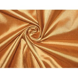 Pure SILK TAFFETA FABRIC Golden Copper colour  TAF90[1]