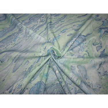 """40's x 40's tencel THE ENVIRONMENT FRIENDLY FABRIC 58"""" wide-MARBLE PRINT BLUES by the yard"""