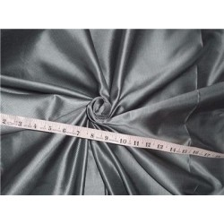 100% SILK TAFFETA FABRIC PIN STRIPE 54''-cloudy blue