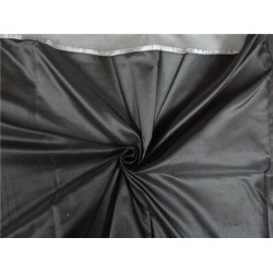 "SILK DUTCHESS BLACK X SILVER 60"" CUT PSC OF 2.70 YRDS"