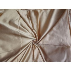 "SILK DUTCHESS CINNAMON BEIGE 60"" CUT PSC OF 2.35 YRDS"