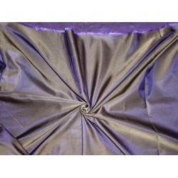 SILK DUTCHESS LIGHT BROWN X PURPLE 60""