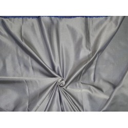 "SILK DUTCHESS ROYAL BLUE X CREAM 60"" CUT PSC OF 4.65 YRDS"
