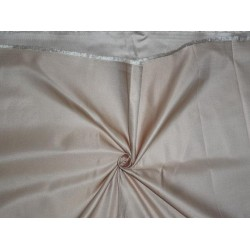 "SILK DUTCHESS SILKY BEIGE 60"" CUT PSC OF 6.20 YRDS"