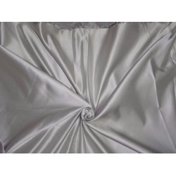"SILK DUTCHESS WHITE SILVER X GREY 58"" CUT PSC OF 3.55 YRDS"