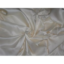 """100% DULL SATIN FABRIC 44""""WIDE IVORY COLOR 120 GRAMS"""