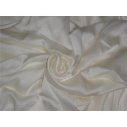 "CREPE SATIN FABRIC 44""WIDE DARK IVORY COLOR 50 GRAMS"
