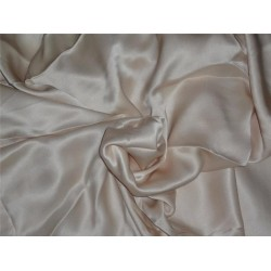 "CREPE SATIN FABRIC 44""WIDE NUDE COLOR 110 GRAMS"