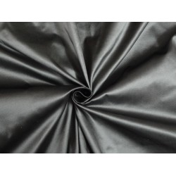 "SILK TAFFETA FABRIC DARK SILVER GREY X WHITE TAF215[2] 54"" wide sold by the yard"