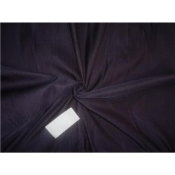 100% SILK TAFFETA FABRIC PIN STRIPE 44''- purple