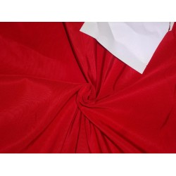"40 MM HEAVY WEIGHT BLOOD RED SILK TAFFETA FABRIC 54"" WIDE*"