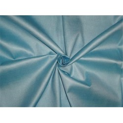 "TUSSAR SILK 40 % / VISCOSE 60% FABRIC 44"" ICY BLUE COLOR"