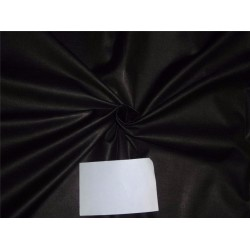 "tussar silk 15 % / viscose 85% fabric 44"" jet black color"
