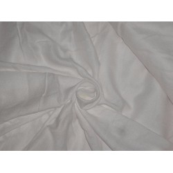 viscose moss crepe ivory color fabric 54""