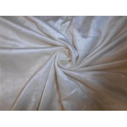 "100% COTTON VELVET FABRIC 54""~IVORY"