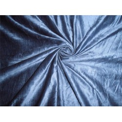 "100% COTTON VELVET FABRIC 54""~ROYAL BLUE"