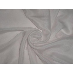 "SOFT CREPE DICION IVORY COLOR FABRIC 40"" 40GSM"