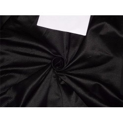 "Dupioni FABRIC PIN STRIPE 54""- BLACK"