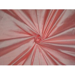 PURE SILK DUPIONI FABRIC BRIGHT PINK COLOR 54 INCHES