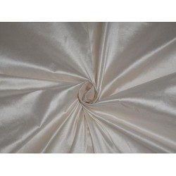 PURE SILK DUPIONI FABRIC CREAM COLOR