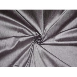 "SILK DUPIONI FABRIC 2 PLY SILK 54"" LIGHT PURPLE,IVORY WITH BLACK"