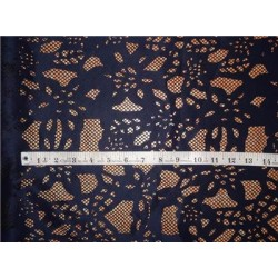 scuba dark navy Laser-Cut Scuba-Knit 60 inch wide