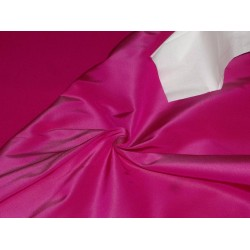 "40 MM HEAVY WEIGHT MAGENTA PINK SILK TAFFETA FABRIC 54"" WIDE*"