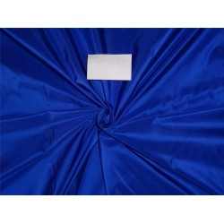 "21mm  WEIGHT SILK ROYAL BLUE TAFFETA FABRIC 48"" WIDE*"