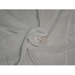 "PURE SILK CREPE FABRIC 44""- SKIN COLOR"