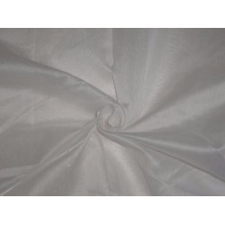 CHANDERI SILK PLAIN IVORY COLOR 44""