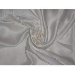 "PURE SILK CREPE FABRIC 44"" WHITE COLOR 120 GRAMS"