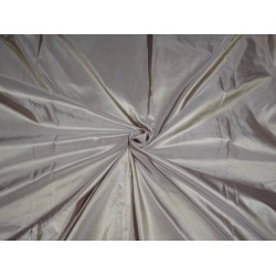 100% PURE SILK TAFFETA FABRIC GOLDEN OLIVE X LAVENDER SHOT