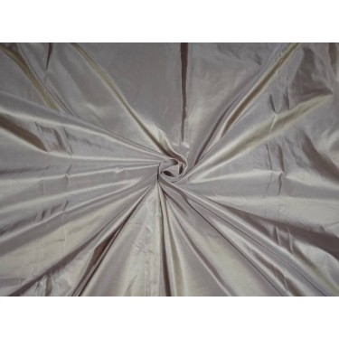 100% PURE SILK TAFFETA FABRIC GOLDEN OLIVE X LAVENDER SHOT 54 inches by the yard