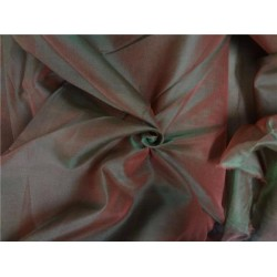 "iridescent silk organza salmon x green 118""inches wide"