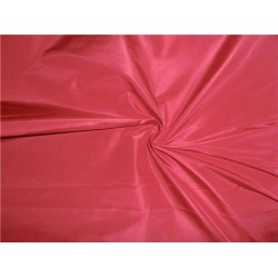 100% PURE SILK TAFFETA FABRIC CANDY PINK