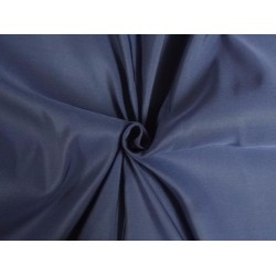 "40 MM HEAVY WEIGHT NAVY BLUE SILK TAFFETA FABRIC 54"" WIDE*"
