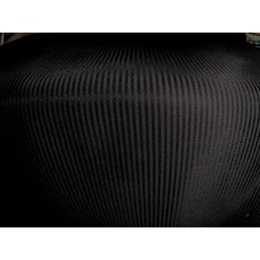 "black neoprene/ striped scuba fabric 59"" wide-thick"