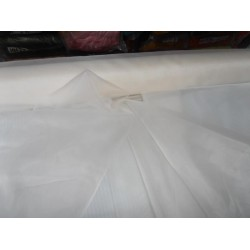 "premium quality 9+ mm -off White china silk organza 54"" wide"