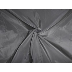 100% PURE SILK TAFFETA FABRIC GREY